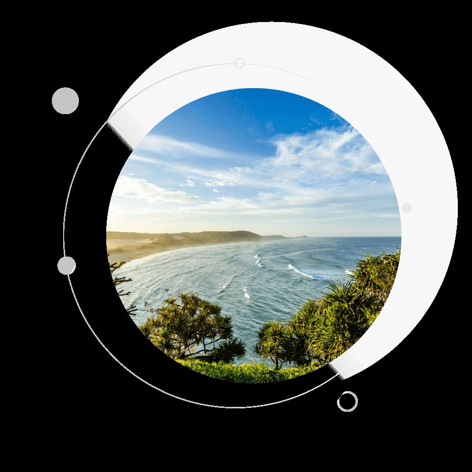 scenec view of the sea